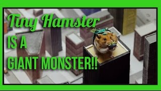 2016 WEBBY AWARD WINNER: Tiny Hamster is a Giant Monster!! (Ep 7)