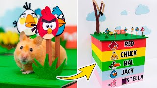 Hamsters in 5 – Level Angry Birds Maze 🐦Come and Enjoy – Homura Ham