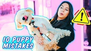 Harmful Things NOT to do to New Puppy 🙅 Bringing New Puppy Home!