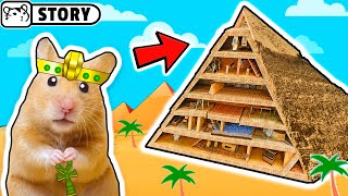 Hamsters in Pyramid Maze 🔥 Pyramid Traps and Treasures 🔥 Come and Enjoy – Homura Ham