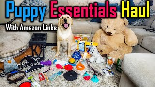 Everything I Bought for My Dog   New Puppy Essentials Haul (with Amazon Links)
